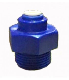 "1/4"" Pushfit to 3/4"" BSP thread Housing Fitting"